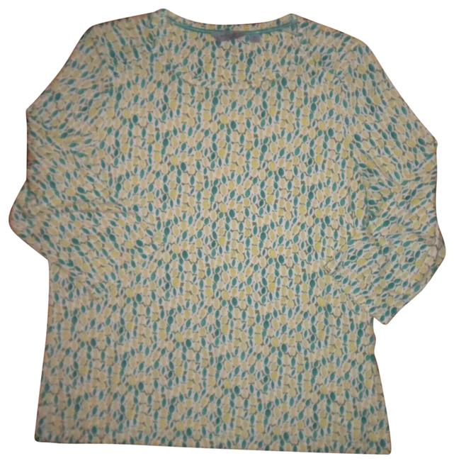 Item - Multicolor XL Women Shirt Blouse Size 16 (XL, Plus 0x)