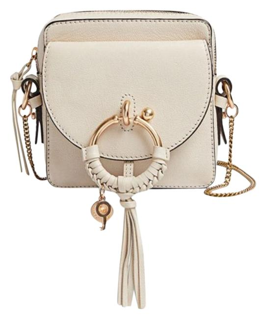 Item - Crossbody Cement Beige Joan Cream White Leather Messenger Bag