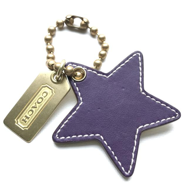 Item - Gold and Purple Star Luggage Tag 92225