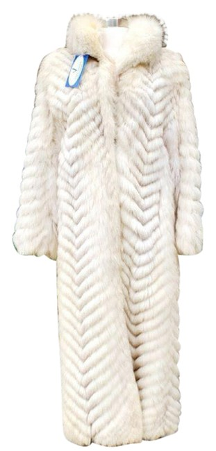 Item - Natural Blue Fox Full Length Coat Size 4 (S)