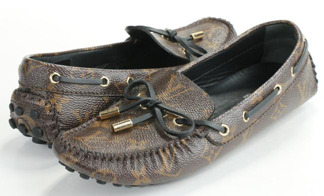 Item - Brown Gloria Flat Loafers Shoes