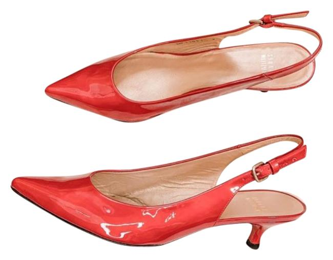 Item - Red Slingback Pumps Size US 9 Regular (M, B)