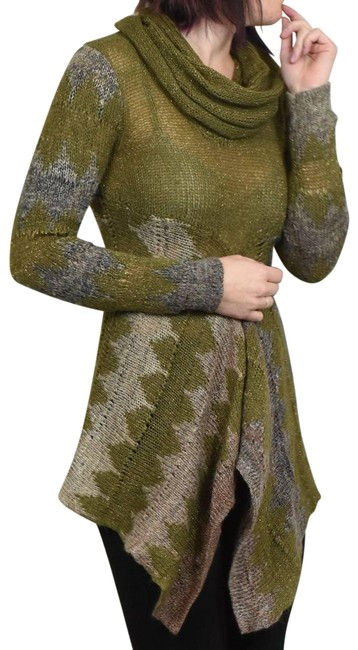 Item - Knit Tunic Size S Green Sweater
