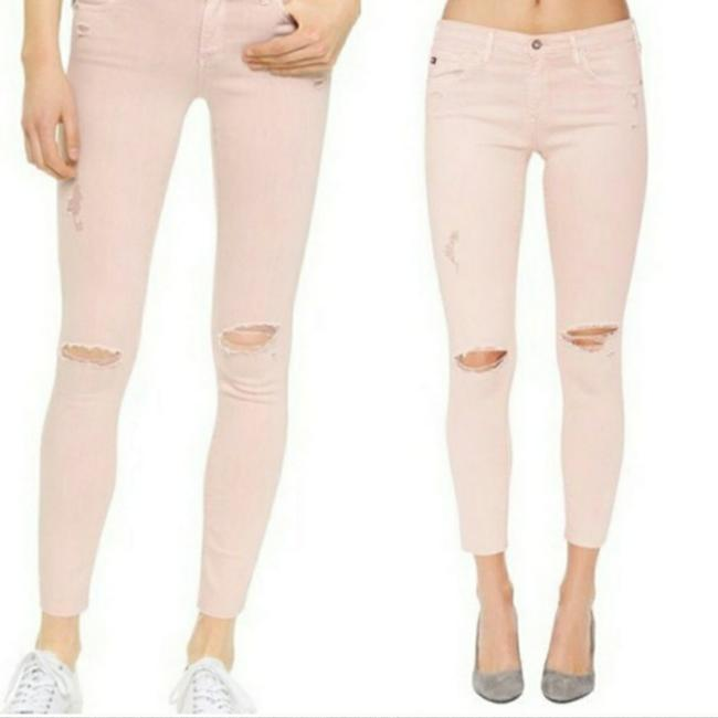 Item - Blush Pink The Legging Super Ankle Skinny Jeans Size 26 (2, XS)