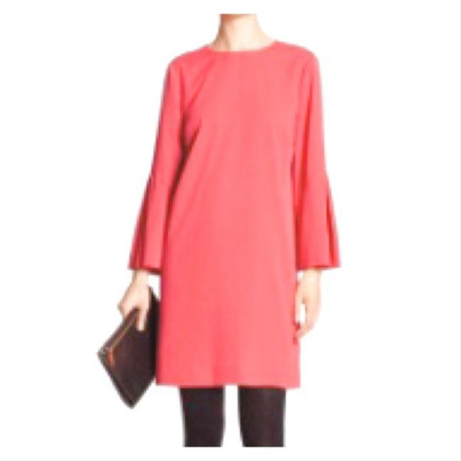 Item - Coral Factory Bell Sleeve Mid-length Work/Office Dress Size 6 (S)