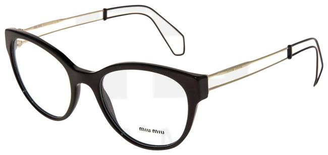 Item - Black Gold 03p Collection Mu03pv Cat Eye Rx Wire Frame 52mm Sunglasses