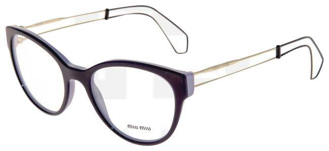 Item - Lilac Violet Gold 03p Collection Mu03pv Cat Eye Rx Frame 54mm Sunglasses