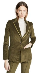 Item - Greenish Olive 40 Corduroy One Button Blazer