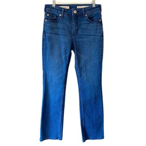 Pilcro and the Letterpress Anthro Anthropologie Boot Cut Jeans-Medium Wash