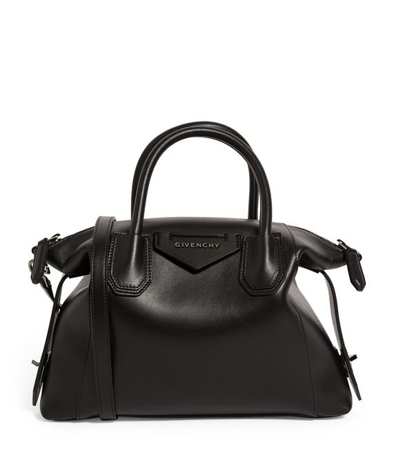 Item - Small Soft Smooth Antigona Black Calfskin Leather Tote