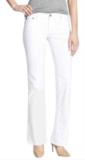 Item - White Light Wash The Angelina Boot Cut Jeans Size 0 (XS, 25)