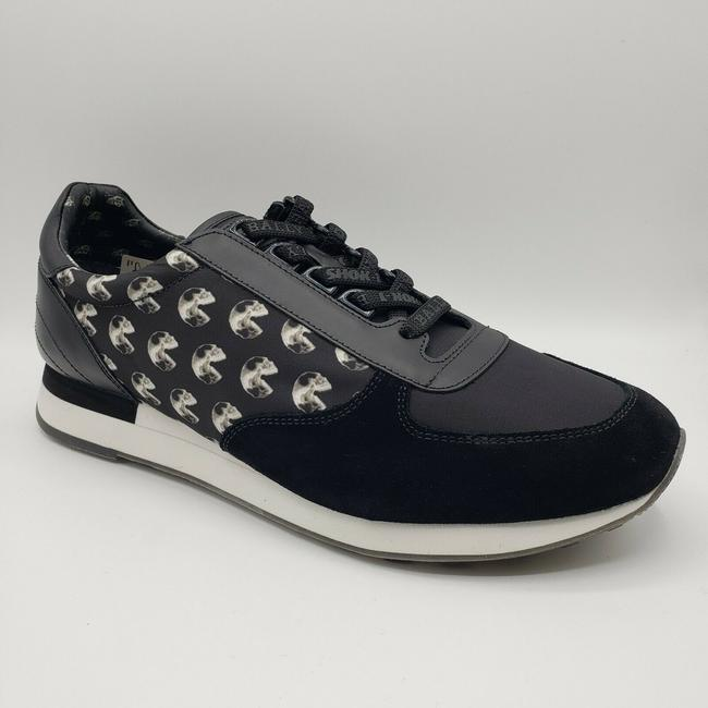 Item - Black Shok-1 Nylon/Leather/Suede Lace Up Sneaker Us 10.5d / 9.5 Eu Shoes