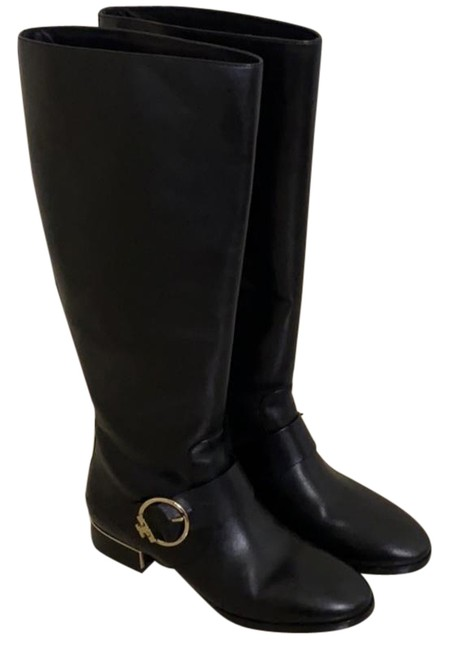 Item - Black Sofia Riding Boots/Booties Size US 8.5 Wide (C, D)