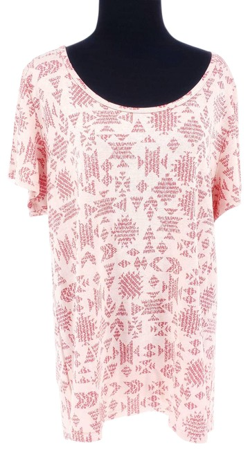 Item - Pink Classic T Geographic X Tee Shirt Size 18 (XL, Plus 0x)