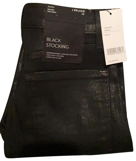 Item - Black Coated New with Tags: Alana High-rise Crop Skinny Jeans Size 0 (XS, 25)