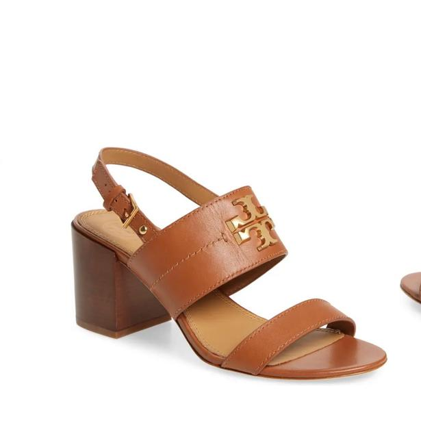Item - Tan Everly 65mm Sandals Formal Shoes Size US 8 Regular (M, B)