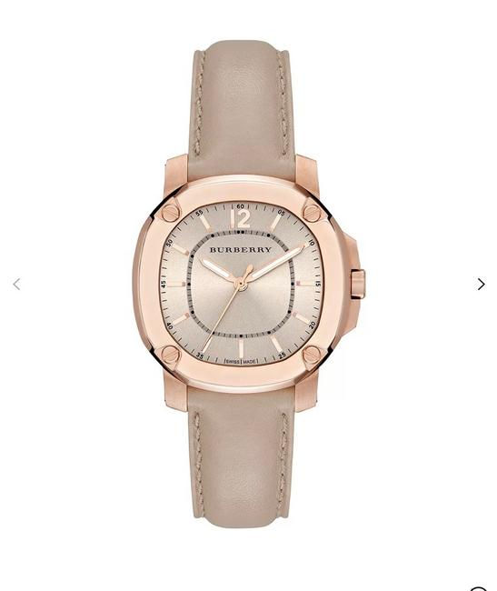 Item - Beige/Rose Gold Plated The Britain Bby1503 Women's Wristwatch 36 Mm Watch