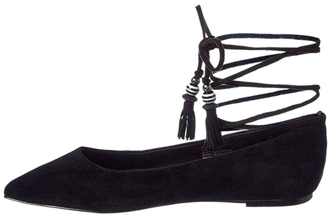 Item - Black Womens Skylar Suede Flats Size US 6 Regular (M, B)