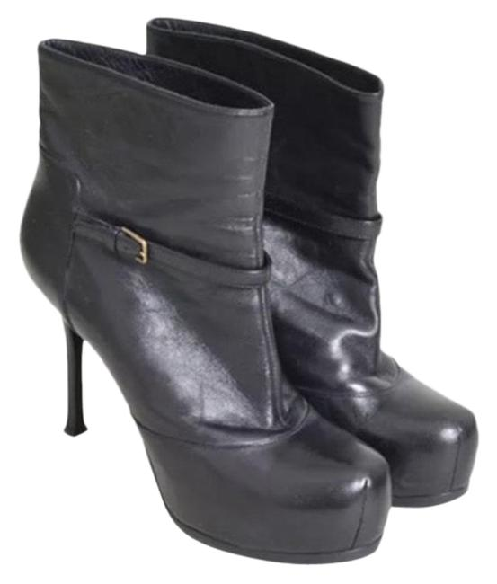 Item - Black Tribute Leather Ankle Boots/Booties Size US 8 Regular (M, B)