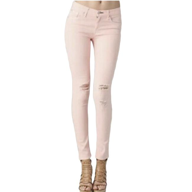 Item - Pink Distressed High Skinny Jeans Size 27 (4, S)