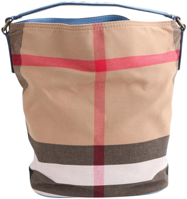 Item - Check Medium Ashby Multicolor Canvas Hobo Bag