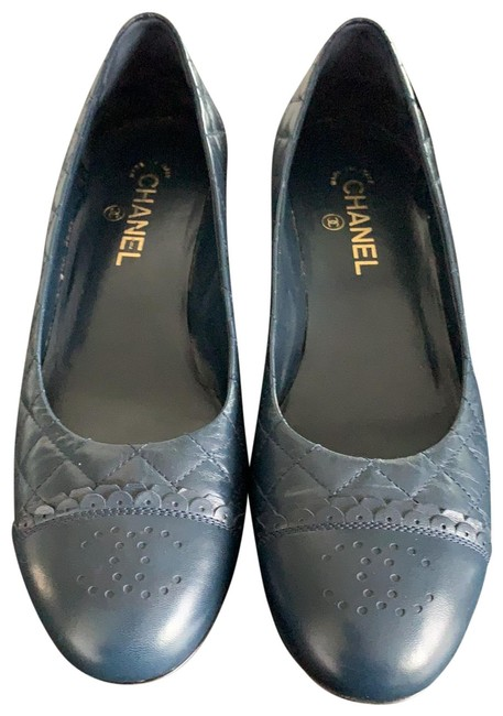 Item - Blue Pumps Size EU 41 (Approx. US 11) Regular (M, B)