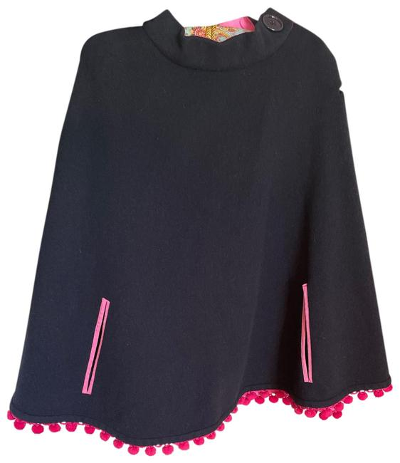 Item - Black Fit All Poncho/Cape Size OS (one size)