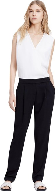 Item - Black/White Colorblock with Extended Tab Romper/Jumpsuit