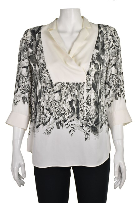 Item - Ivory Silk Pullover Blouse Size 4 (S)
