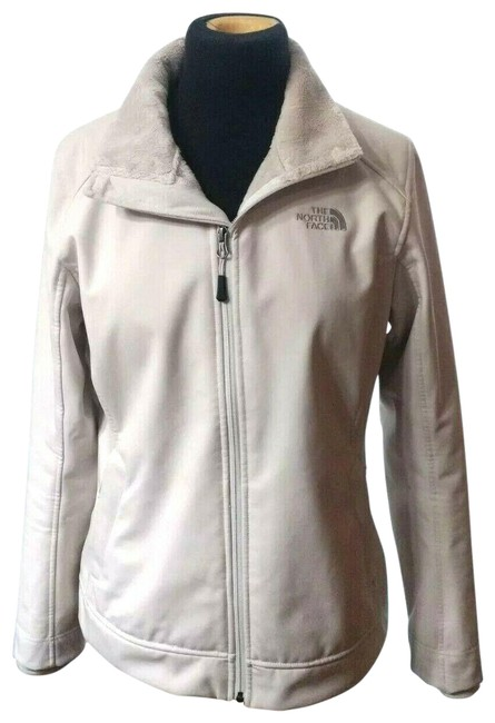 The North Face Beige Apex Chromium Softshell Windproof Hiking Backpacking Casual Everyday Jacket Size 4 (S) The North Face Beige Apex Chromium Softshell Windproof Hiking Backpacking Casual Everyday Jacket Size 4 (S) Image 1