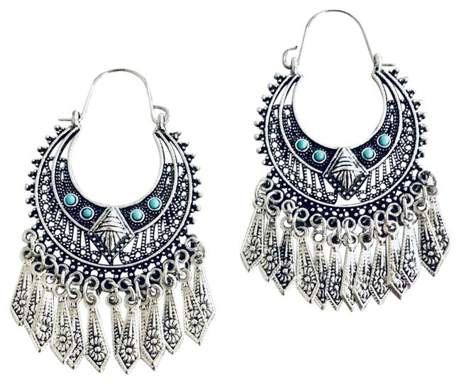 Item - Silver Chandelier Earrings
