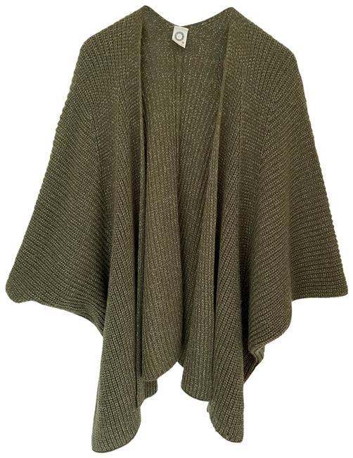Item - Green with Metallic Thread Cardigan Size OS (one size)
