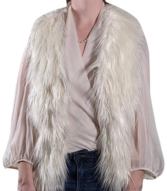 Item - White XS Faux Fur Vest Size 2 (XS)