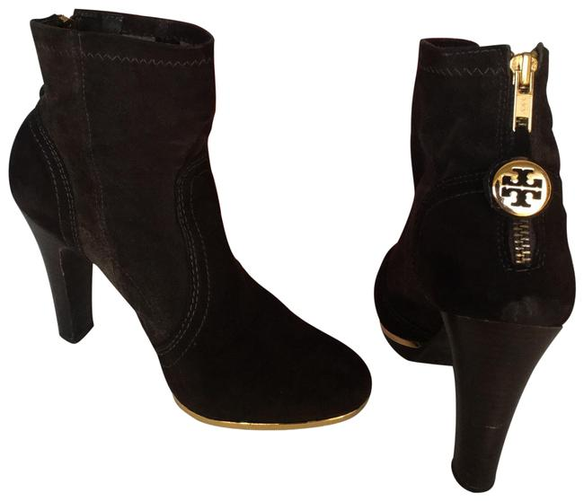 Item - Chocolate Brown Melrose Suede Boots/Booties Size US 7 Regular (M, B)