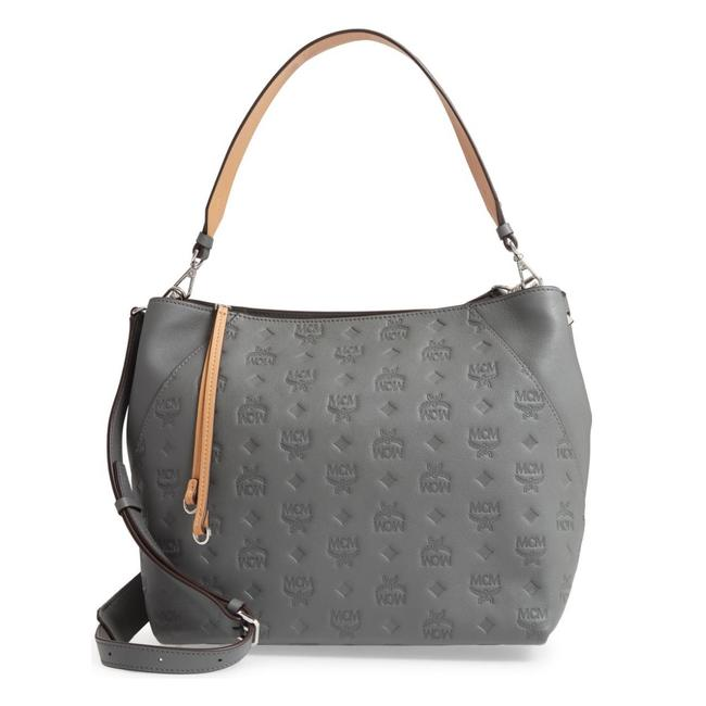 Item - Crossbody Klara Medium / Shoulder/ Grey Leather Hobo Bag