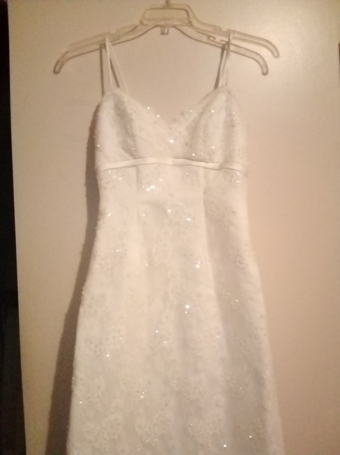 Item - Ivory Polyester M8824 Formal Wedding Dress Size 2 (XS)
