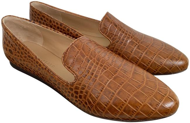 Item - Brown Griffin Honey Crocodile Leather Loafers Flats Size US 9.5 Regular (M, B)