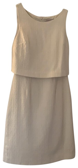 Item - Beige Short Cocktail Dress Size 0 (XS)
