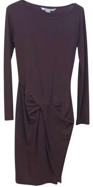 Item - Wine Dvf Mid-length Work/Office Dress Size 2 (XS)