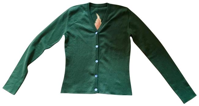 Item - Olive Green Cannabis Cardigan Size 8 (M)