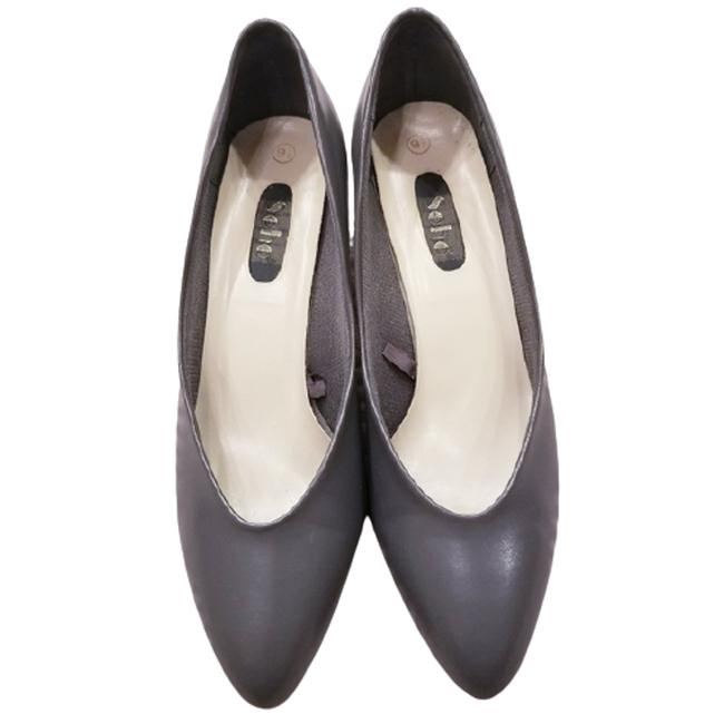 Soho Gray Vintage 70s Pointy Toe Heels Pumps Size US 9.5 Regular (M, B) Soho Gray Vintage 70s Pointy Toe Heels Pumps Size US 9.5 Regular (M, B) Image 1