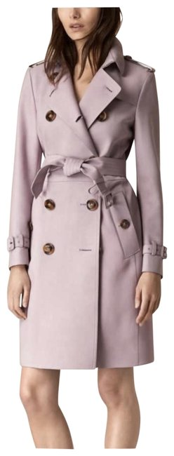 Item - Lilac Trench Coat Color Jacket Size 8 (M)