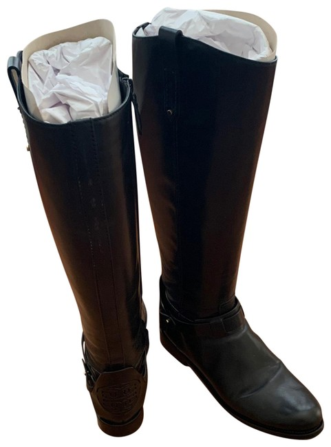 Item - Black Leather Riding Boots/Booties Size US 9 Regular (M, B)