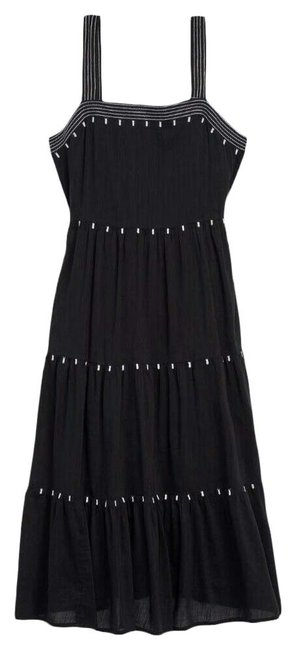 Item - Black Jack Tiered Swing Mid-length Casual Maxi Dress Size 12 (L)