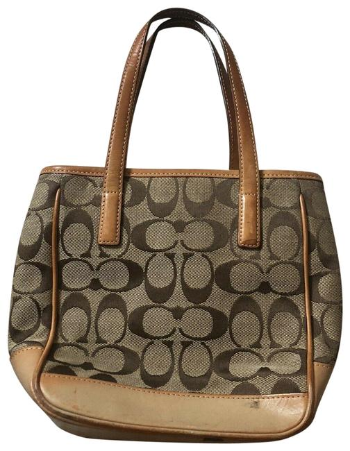 Item - Brown Canvas Tote