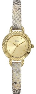 Guess Guess W0228L2 Women's Gold Analog Watch With Champagne Dial