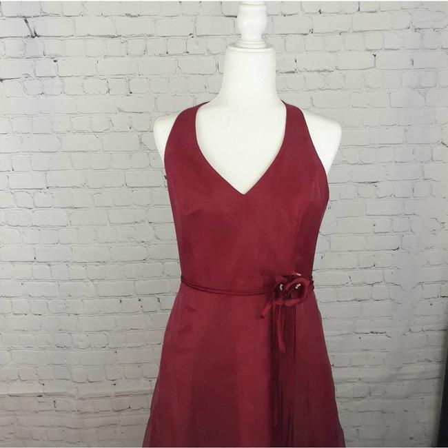 Item - Red Apple Halter Sexy Bridesmaid/Mob Dress Size 10 (M)