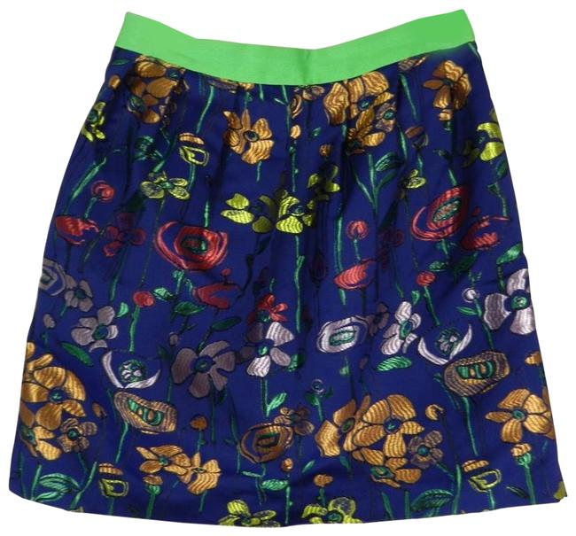 Item - Blue Madchen Garden Of The Spectrum Skirt Size 6 (S, 28)