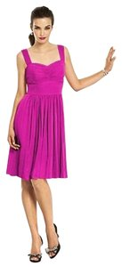 After Six Knee-length Nu-georgette Pink Dress