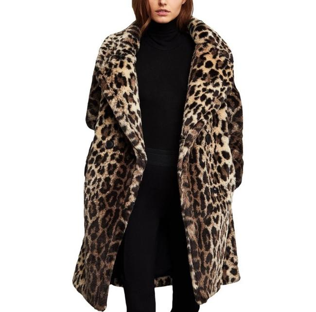 Item - Leopard Airel Coat Size 14 (L)